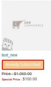AlreadySubscribed