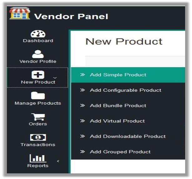 VendorPanel_NavigationBarandMenu