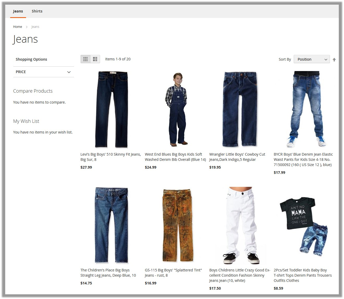 Front-end_View_ProductListing