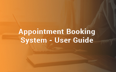 Appointment Booking System - User Guide