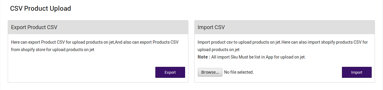 CSVProductUpload