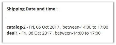 ShippingDateAnd Time_OrderSummary