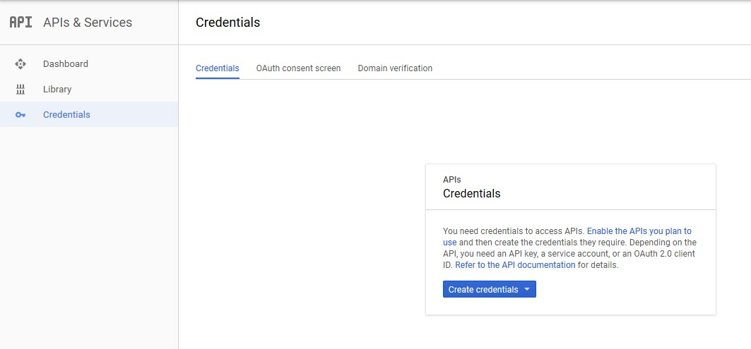 Google_CredentialsPage