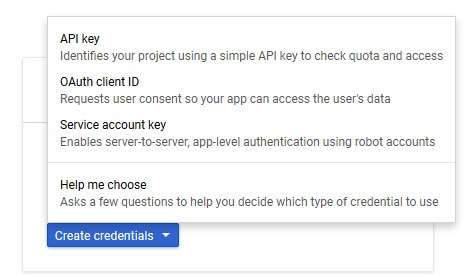 Google_Credentials_Menu