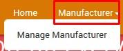 ManufacturerMenu