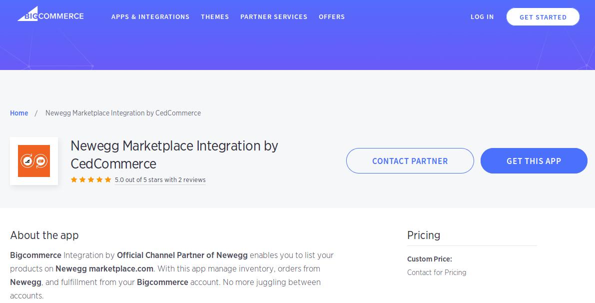newegg marketplace integration