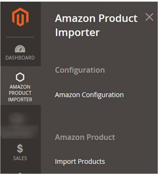 AmazonProductImporter_Menu