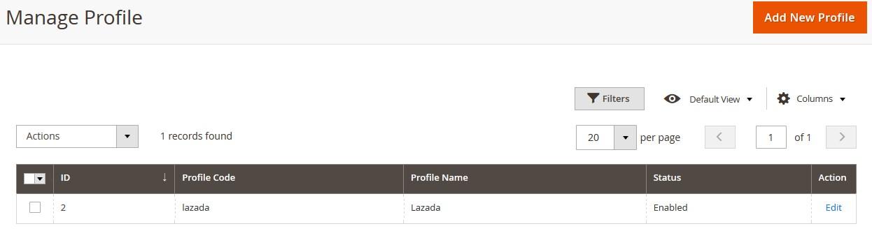 LazadaM2_ManageProfile
