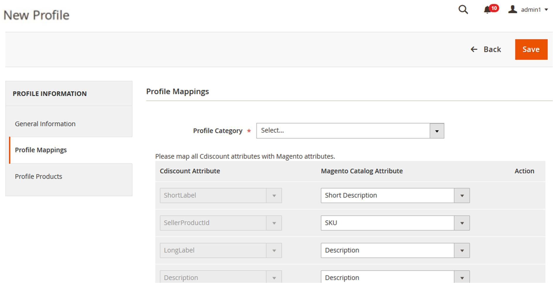 CdiscountIntegration_NewProfile_ProfileMappings