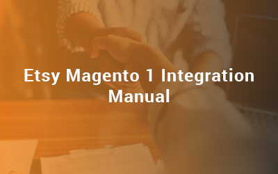 Etsy Magento 1 Integration Manual