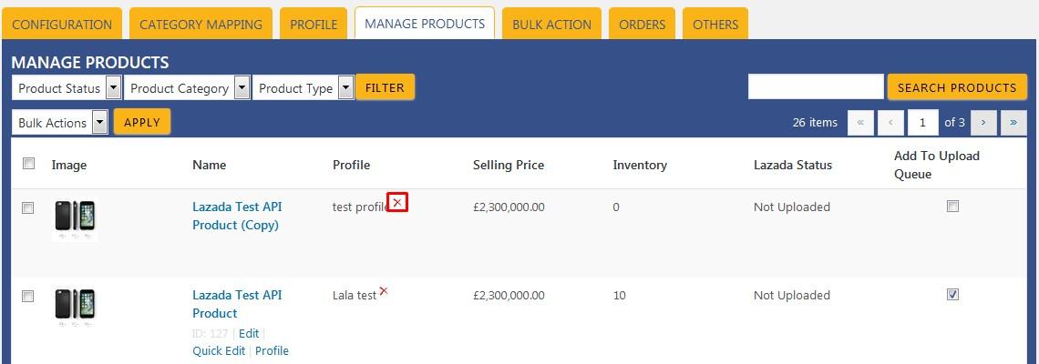 WooCommerceLazadaInetgration_ManageProductsPage_3