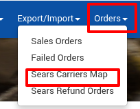 Sears Carrier Map