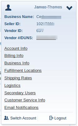 Sears BigCommerce App APi Config