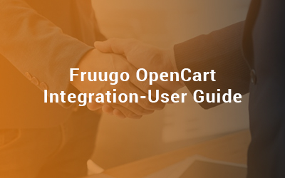 Fruugo OpenCart Integration guide