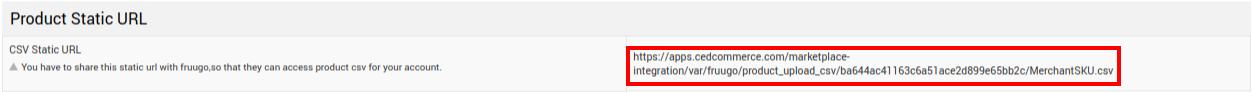 URL path CSV