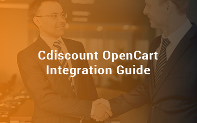 cdiscount opencart integration guide