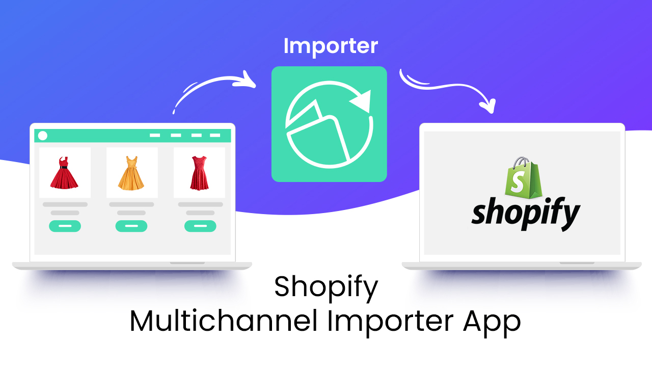 multichannel product importer app with FBA order management.