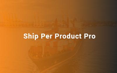 Ship Per Product Pro