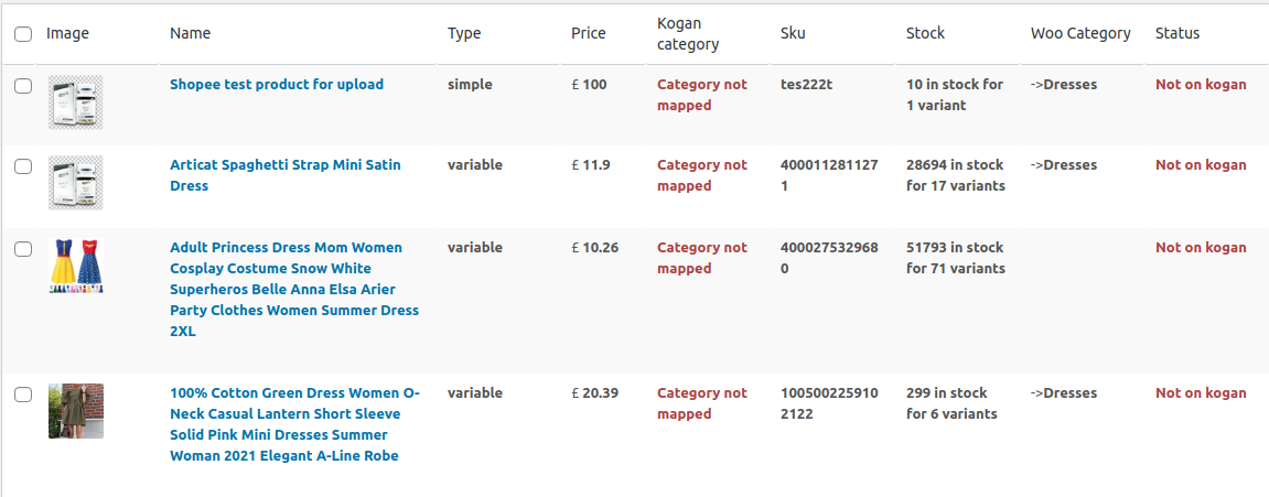 Kogan Integration For WooCommerce