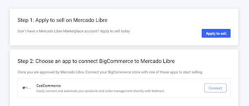 mercado Libre integration install 8